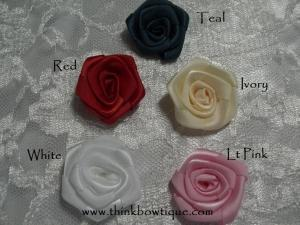 Flat rolled rosettes