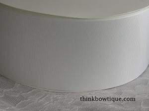 "75mm - 3"" solid grosgrain ribbon"