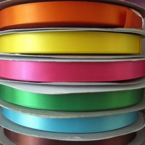 "25mm - 1"" Double sided satin Ribbon"