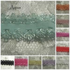 Stretchy lace elastic