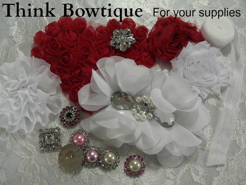 Think Bowtique for your supplies