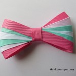 Make a ribbon layered bow
