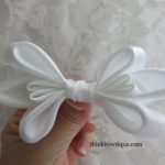 Make a Satin ribbon bow