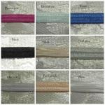 Fold over elastic - FOE elastic 9mm