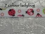 9mm Printed grosgrain ribbon