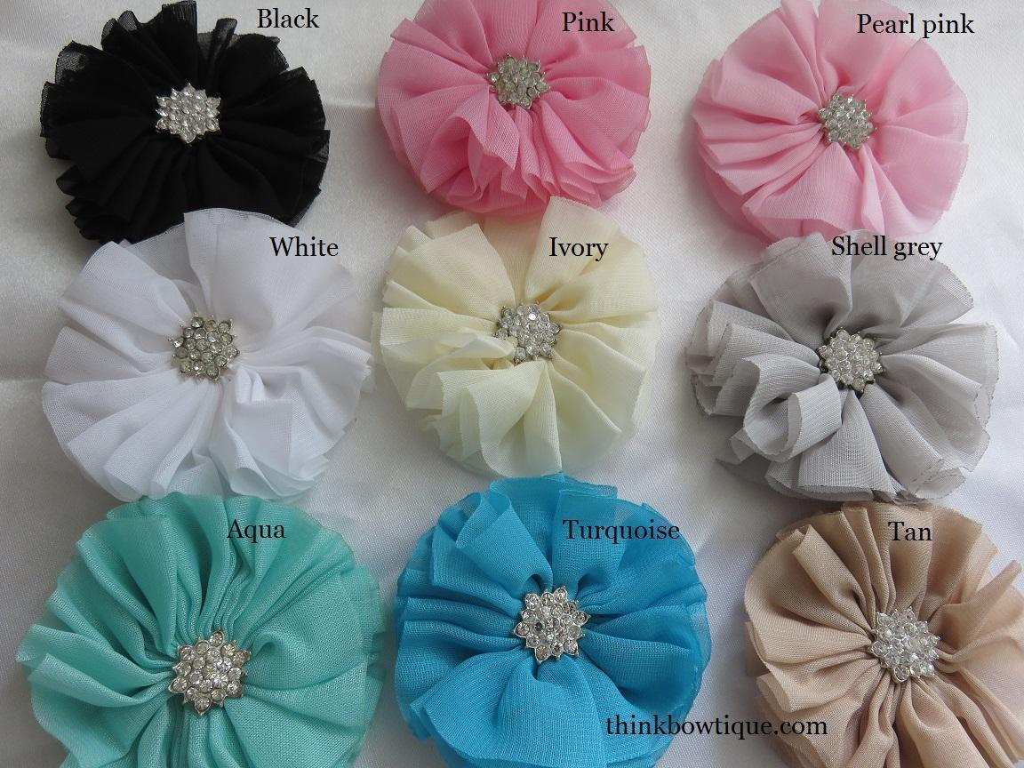 Flowers For Your Hair Accessory Headband Making And Craft Supplies