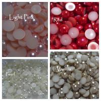10mm Flat back pearls