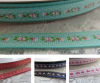 9mm floral printed grosgrain ribbons Australia