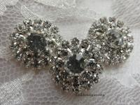 20mm rhinestone flat back embellishment