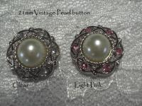 21mm Vintage Pearl buttons