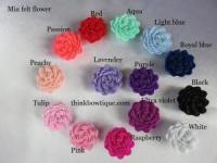 Alice felt fabric flower Australia