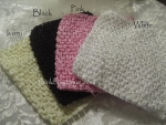 "6"" Crochet headbands for tutu tops"