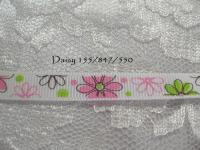 printed grosgrain ribbon