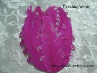 Nagorie curly feather Hackle pads
