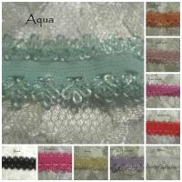 Frilly lace elastic 1 metre.