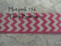 printed chevron ribbon