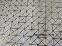 Triangle pattern faux leatherette sheets